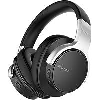Mixcder E7 Casque Bluetooth à Réduction Active de Bruit Over-Ear Audio Stéréo Écouteurs Circum Auriculaire ANC sans Fil avec Micro Basses Puissantes, Léger, 20h de Jeu, pour PC Smartphone TV - Noir