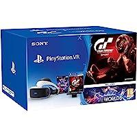 PlayStation 4: PS VR + PS Camera V2 + VR Worlds + GT Sport [Bundle]
