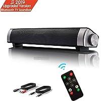 Lautsprecher, TV Sound Bar Wireless Bluetooth Soundbar tragbare Stereo Wired USB Powered Computer Lautsprecher Portable…