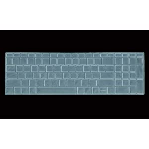 Saco Chiclet Keyboard Skin for HP Notebook 15  bs146tu 15.6 inch Laptop   Transparent