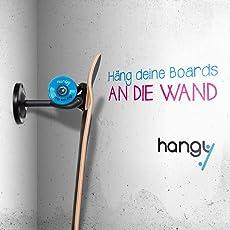 Longboard & Skateboard Wandhalterung - passt für alle Boards - Rack Stand Halterung