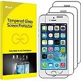 JETech Schutzfolie für iPhone SE (Ausgabe 2016), iPhone 5s, iPhone 5 und iPhone 5c, Gehärtetem Glas Displayschutzfolie…