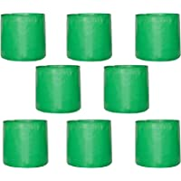 Leafy Tales HDPE Grow Bags, Green, 9 x 9 inch, 8 Pieces