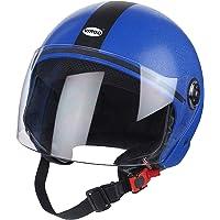 Virgo Clear Visor Helmet, Blue