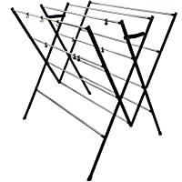 DRY LINE Basic - Folding Cloth Drying Stand with Stainless Steel RODS-Rust Proof