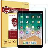 OMOTON (2 Pièces) Protecteur D'écran iPad Pro 10.5 en Verre Trempé, Film Protection avec [9H Dureté] [2.5D Bord Arrondi] [Anti-Rayures] pour iPad Pro 10.5