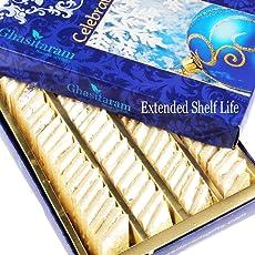 Ghasitaram Gifts Pure Kaju Katlis Box 400 Gms