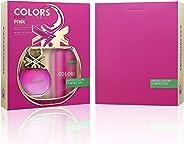 United Colors Of Benetton Colors De Benetton Pink Eau De Toilette 80Ml + Deodorant Spray 150Ml