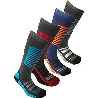 4 Pairs Mens Long Hose High Performance Ski Socks