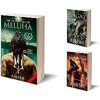 Shiva Triology Set of 3 books by Amish Tripathi: Vayuputras, Nagas, Meluha : Collection: Set of 3