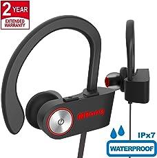 Cuffie Bluetooth Wireless Senza Fili Sport Auricolari Con Microfono per Apple iPhone X 8 7 Plus 6 iPad Samsung Galaxy