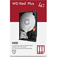 "WD Red Plus 4 TB NAS 3.5"" Interne Festplatte – 5.400 RPM Class, SATA 6 Gbit/s, CMR, 64 MB Cache"