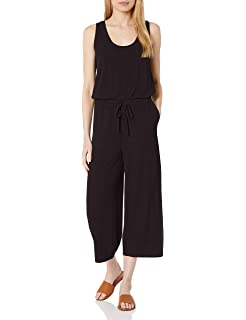Daily Ritual Womens Supersoft Terry Sleeveless Jumpsuit