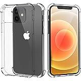 Migeec Funda Compatibilidad iPhone 12 Pro iPhone 12 Suave TPU Gel Carcasa Anti-Choques Anti-Arañazos Protección a Bordes y Cá