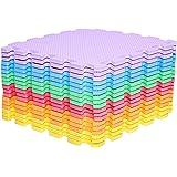 Amazon Brand - Umi 1 'x 1' (30cm x 30cm) Tapis de Sol imbriqués | Tapis en Mousse Douce | Tapis de Jeu | Tapis de Gymnastique