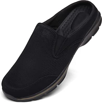 Unisex Slippers Casual Clog House Shoes Comfort Slip-On Walking Mules with Indoor Outdoor Anti-Skid Sole for Men and Women