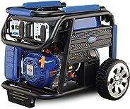 Ford 7500 Watts Peak & 6000 Watts Rated 420cc Petrol / Gasoline Powered Portable Generator, Blue