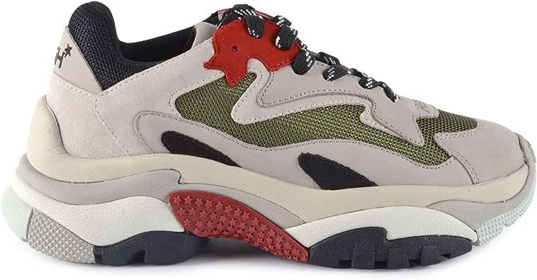 Ash addict cuir femme gris femme | Fanny chaussures