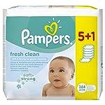 Pampers - Fresh Clean - Toallitas húmedas - 2 x 384 toallitas