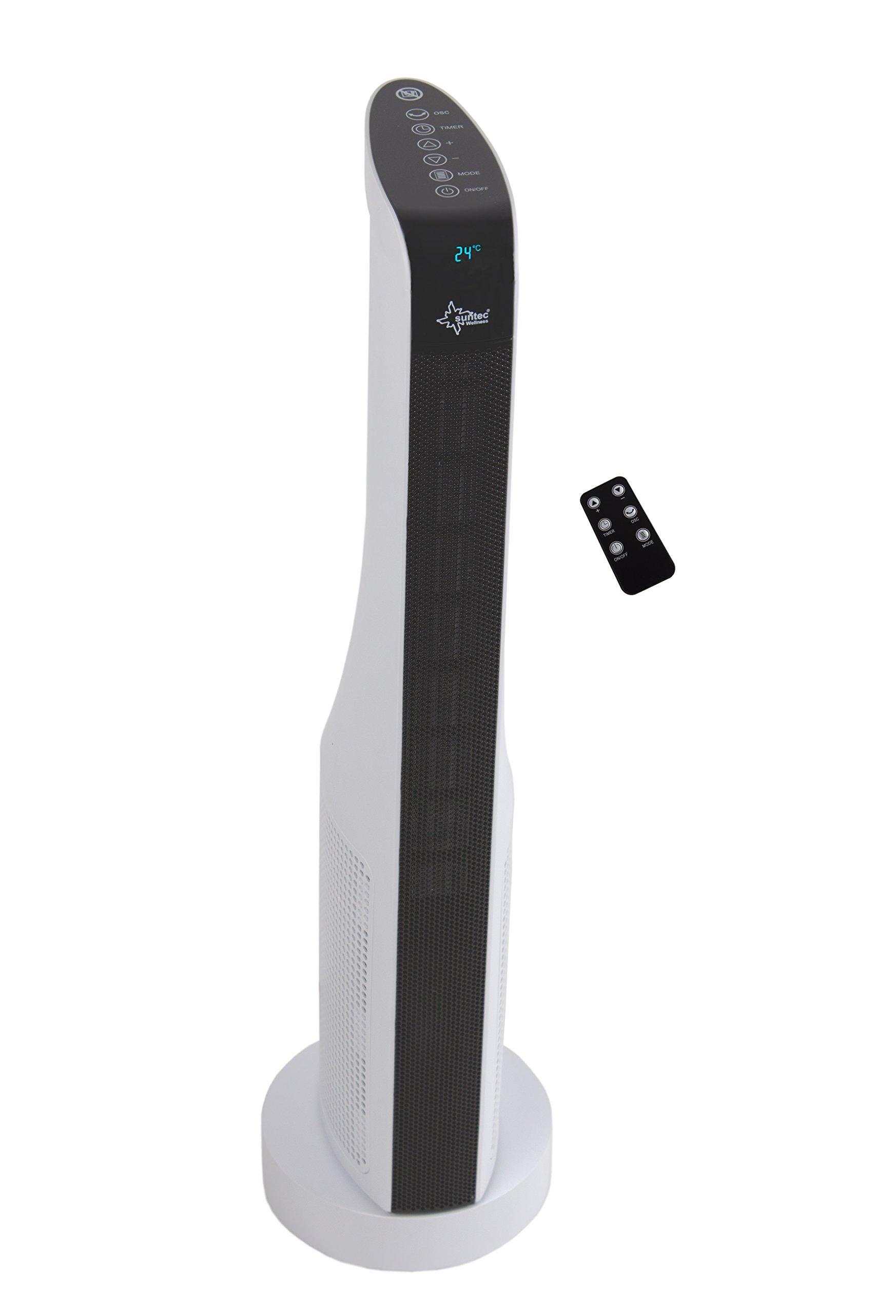Termoventilatore Suntec Heat Prime PTC 2000 W, 70 cm, bianco [13058]