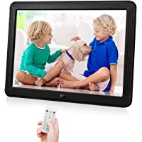 """Smart Digital Photo Frame with 1920x1080 IPS Screen, 10"""" Digital Picture Frame Support Adjustable Brightness Photo…"""