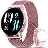 NAIXUES Smartwatch, Reloj Inteligente IP67 con Presión Arterial, 8 Modos de Deporte, Pulsómetro, Monitor de Sueño, Notificaci