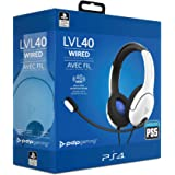 PDP Headset LVL40 Stereo Sony PS4 - PS5 White