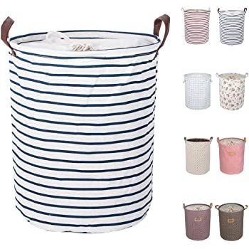 Light Grey Foldable Heavy-duty Laundry Basket Waterproof Bag