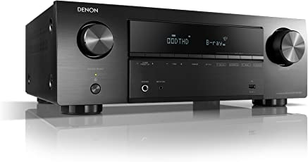 Denon AVR-X550BT  AV-Receiver Schwarz