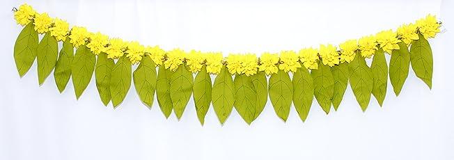 Daedal Crafters- Green Leaf Toran