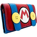 Super Mario Bros. Klempner Kostüm Rot Portemonnaie Geldbörse