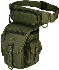 Freedom-vp Dammen Herren Military Tactical Hüfttasche Beintasche für Reisen Radfahren Bergsteigen Sports Outdoor Tasche