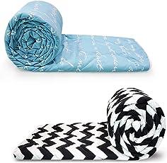 Divine Casa Polyester Single Comforter-110 GSM