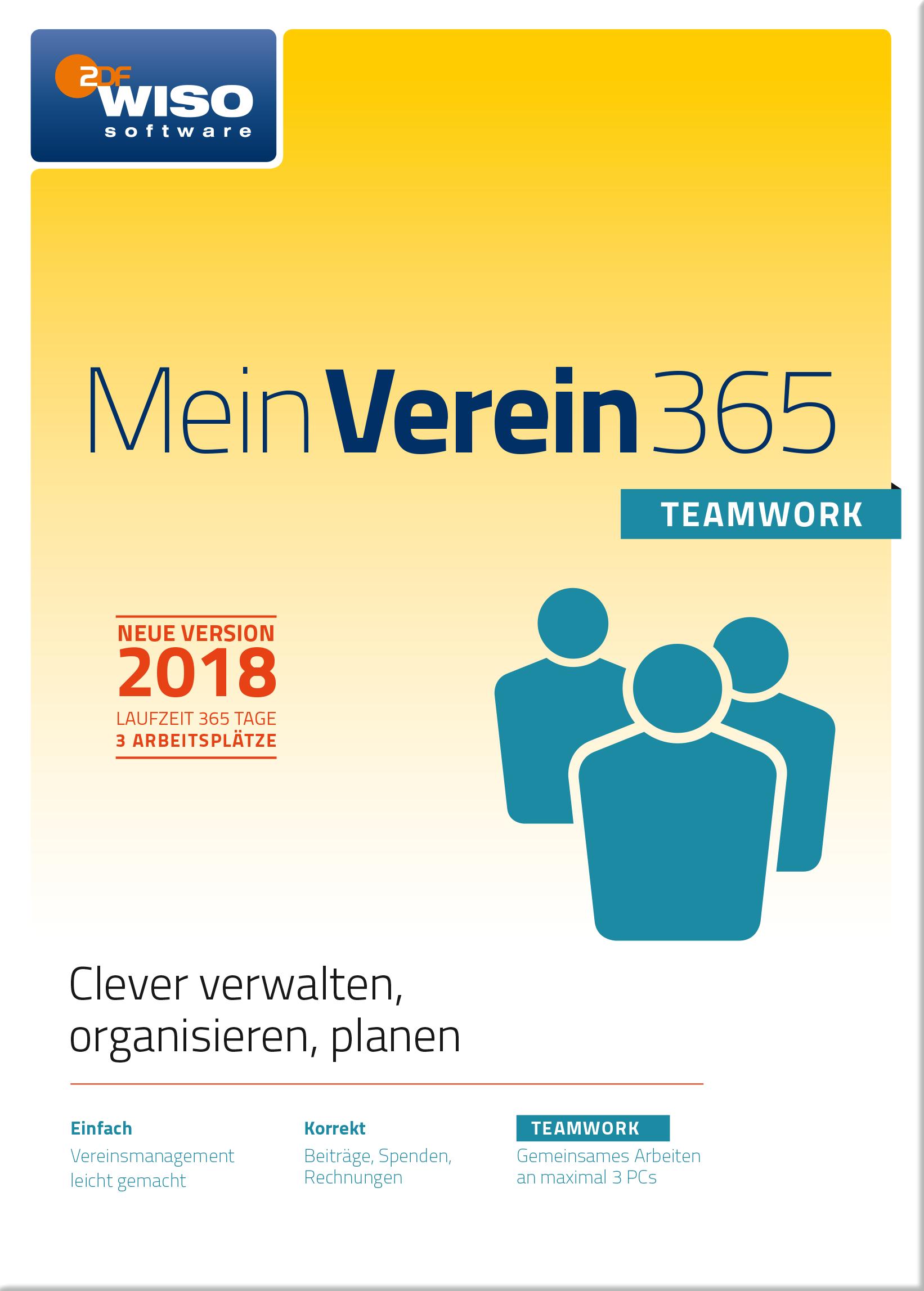 WISO Mein Verein 365 Teamwork (2018) [Online Code]