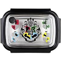 POS 33444 Boîte à Sandwich avec Motif Harry Potter 19,5 x 14,2 x 7,2 cm en Acier Inoxydable et Plastique sans BPA ni…