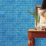 Neue 3D Tapete DIY Wandaufkleber Wand Dekor Geprägte Ziegelstein PE Schaum