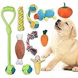 FONPOO Juguetes Perro,Hecho de La Correa de Perro de Frutas y Verduras Reducir el Aburrimiento del Perro y Masajear la Salud