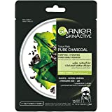 Garnier SkinActive Pure Charcoal Hydrating Face Tissue Mask for Pore Tightening 28g