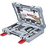 Bosch Professional bits-/borrsats Premium (betongborr, kakelborr, universalhållare, djupstopp, spärrnyckel titannitrid-belägg