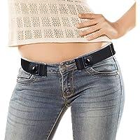 VBIGER Cintura Uomo Donna Cintura Senza Fibbia per Uomo Donna Cintura Uomo Elastica Jeans Larghezza