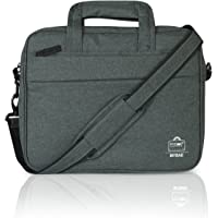 MYBAE Office Laptop Bags Briefcase 14 Inch for Women and Men (Grey)