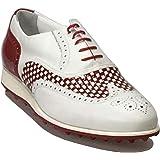 Atelier Guarotti Scarpe da Golf Uomo Artigianale - Swing (Spikeless) - St.Si.- Alate