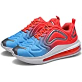 Scarpe da ginnastica da uomo con cuscino d'aria per attività all'aria aperta, scarpe sportive con lacci