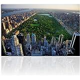 Canvasfoto Manhattan Central Park 120x80cm. Handgemaakt. Canvas en houten spieraam. Kwaliteit uit Duitsland!