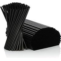 500 St/ück Einweg Plastik Strohhalme Knickbare Trinkhalme Plastik ohne BPA Flexibel Bunte Kunststoff Strohhalm f/ür Party//Bar//Getr/änke 6mm*210mm Gr/ö/ße