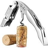 BENKIA Cavatappi in acciaio inossidabile - Cavatappi di qualità per uso professionale con apribottiglia e tagliacapsule - apr