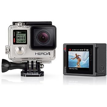 GoPro HERO4 Silver Edition Adventure Videocamera 12 MP, 4K/15 fps, 1080p/60 fps, 720p/120 fps [Italia]