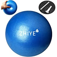 ZHIYE Mini Pilates Ball Yoga Small Exercise Ball Core Fitness Bender, Yoga, Stability, Barre, Training Physical Therapy…
