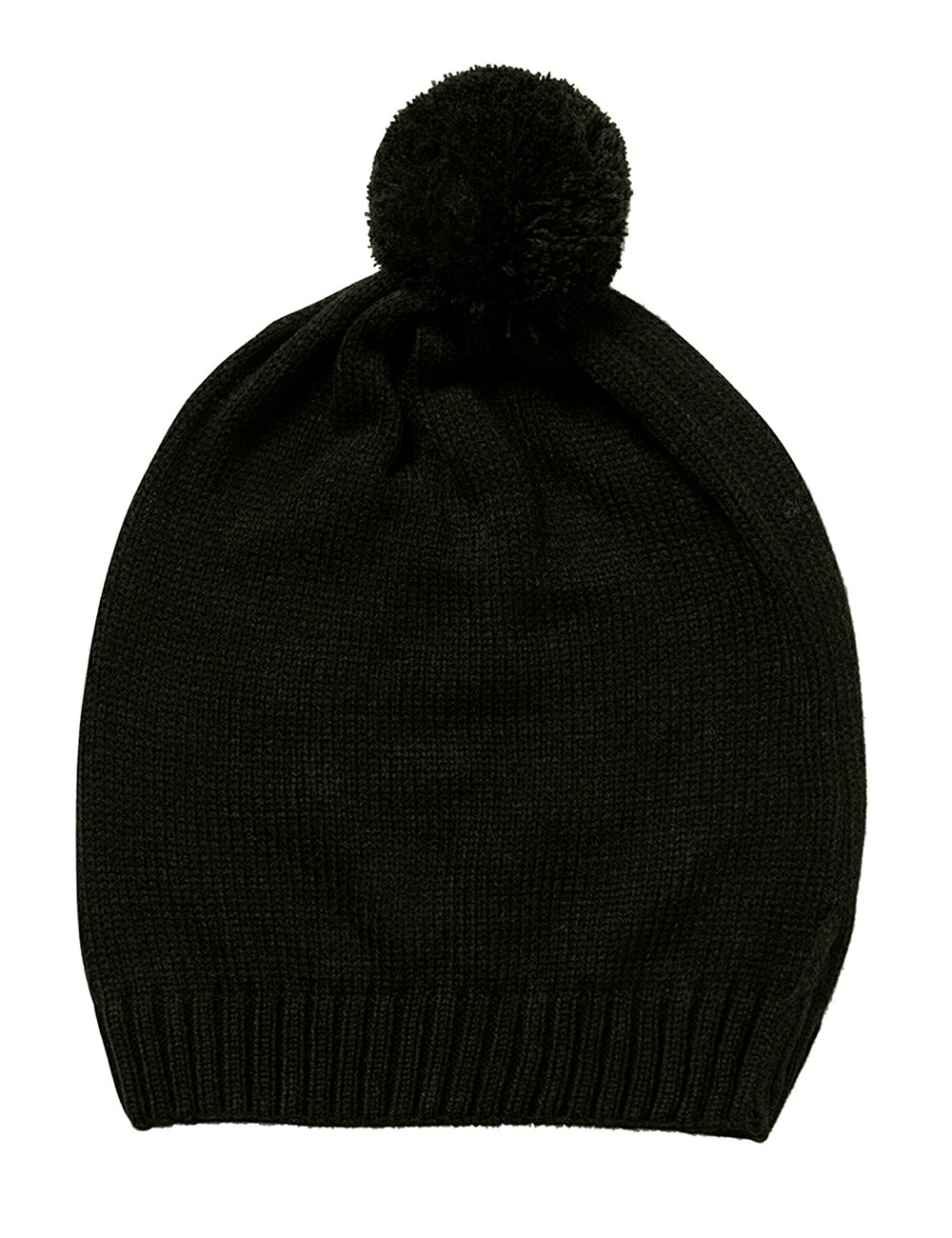 Desigual Hat_Botanic, Gorro de Punto para Mujer, (Negro 2000), única (Talla del Fabricante: U)