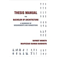 Thesis Manual for Bachelor of Architecture